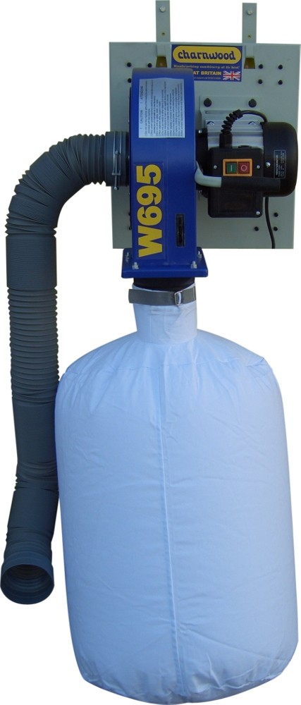 W695 Wall Mounted Dust Extractor