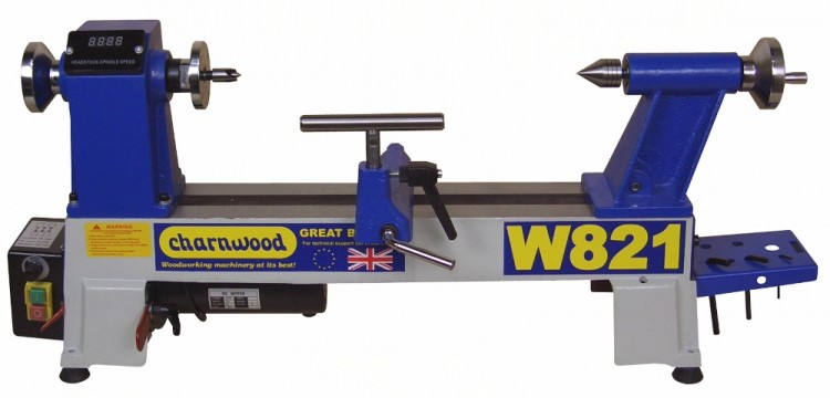 W821 Midi Woodturning Lathe