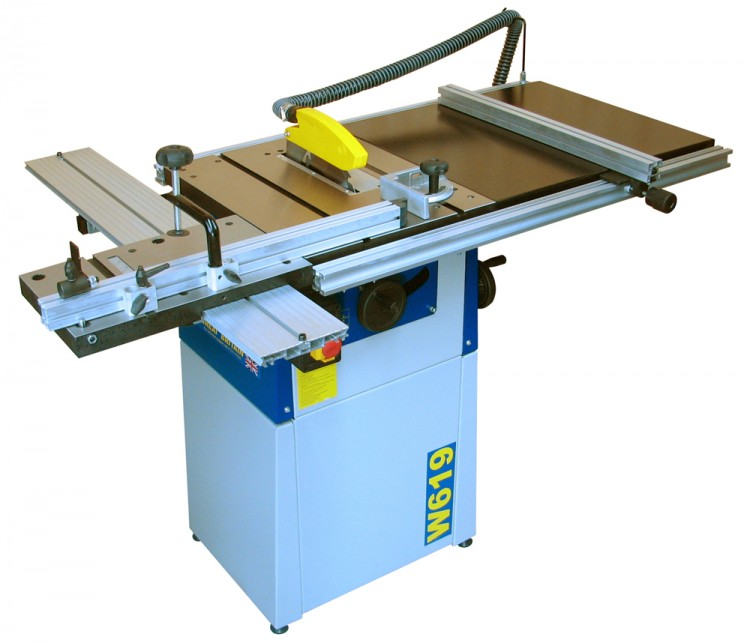 W619 8'' Cast Iron Table Saw
