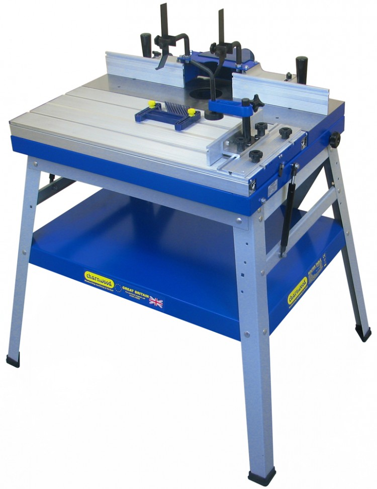 W015 Floorstanding Router Table with Sliding Table